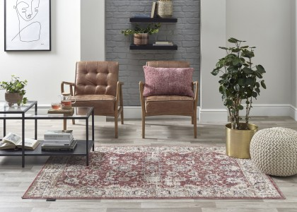 Alhambra Rug 6549a Red