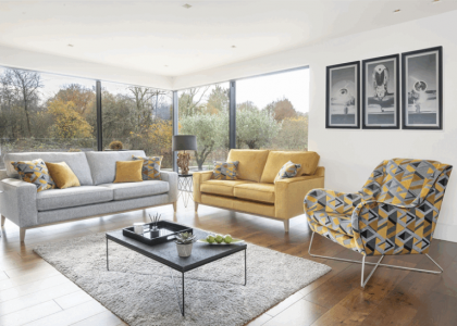 Fairmont Fabric Upholstery Range
