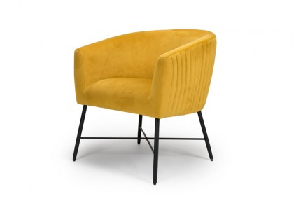 Jade Occasional Chair - Apricot