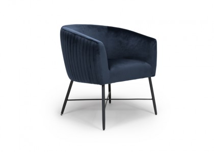 Jade Occasional Chair - Navy