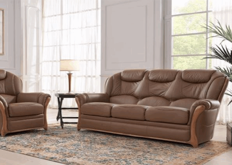 Elba Leather Upholstery Range