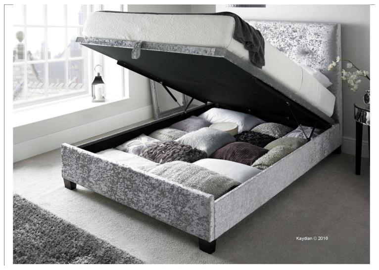 Walkworth Ottoman Bed