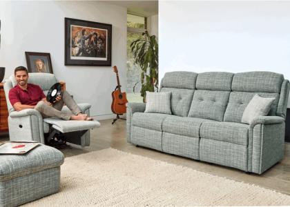 Roma Fabric Upholstery Range