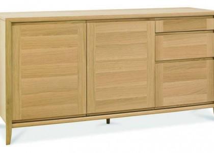 Bergen Oak Wide Sideboard