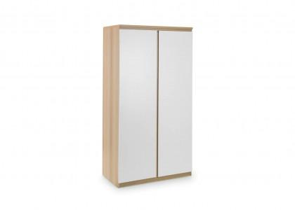 Jupiter 2 Door Wardrobe - White