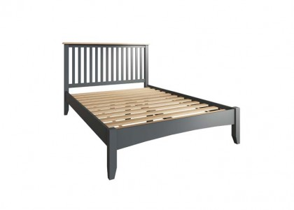 Gala Double Bed Frame - Grey