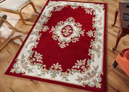 Royal Red Rug