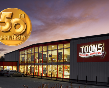 Celebrating 50 Years Of Service With Toons Furnishers