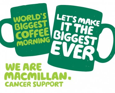 Don't Miss Our Macmillan Coffee Morning